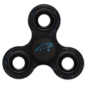 Carolina Panthers NFL Multi Logo Printed 3 Way Fidget Spinners *CLOSEOUT*