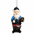 Carolina Panthers NFL Resin Santa Grill Ornament *SALE*