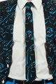 Carolina Panthers NFL Repeat Big Logo Shinesty Printed Tie