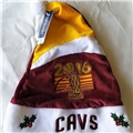 "Cleveland Cavaliers 2016 NBA Champs Basic Holiday 18"" Christmas Santa Hat *AS LOW AS $1 EACH*"