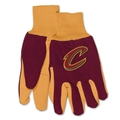 Cleveland Cavaliers NBA Two Tone Sport Utility Work Gloves *CLOSEOUT*