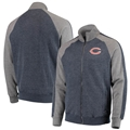 Chicago Bears NFL Fall Navy Match Full Zip Track Jacket *NEW* Asst Sizes