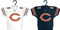 Chicago Bears NFL Home & Away Jersey Ornament 2 Pack Set *NEW* - 6 Count Case