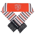 "Chicago Bears NFL Glitter Stripe 60"" Team Knit Scarf"