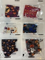 Halloween Assorted Design Children's Reusable Face Masks w/ Ear Loops - 1 Dozen