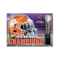 Clemson Tigers NCAA 2018 National Champions Metal Magnet *SALE*