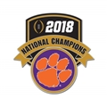 Clemson Tigers NCAA 2018 National Champions Collector Metal Pin *NEW*