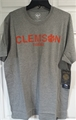 Clemson Tigers NCAA College Vault Slate Grey Imprint Club Mens T Shirt *SALE*