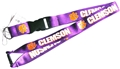 Clemson Tigers NCAA Purple Lanyard