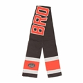 "Cleveland Browns NFL Gridiron Brown Rushfield 60"" Team Knit Scarf *NEW*"