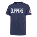 Los Angeles Clippers NBA Bleacher Blue Fieldhouse Mens Tee Shirt *CLOSEOUT*