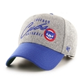 Chicago Cubs MLB Cooperstown Gray Fenmore MVP Adjustable Hat *NEW*