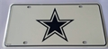 Dallas Cowboys 3rd Design NFL Printed Metal License Plate Tag *NEW*
