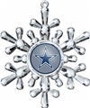 Dallas Cowboys NFL Traditional Snowflake Ornament 6ct Box *SALE*