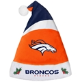 "Denver Broncos NFL Basic Holiday 18"" Christmas Santa Hat"
