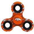 Denver Broncos NFL Multi Logo Printed 3 Way Fidget Spinners *CLOSEOUT*