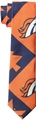 Denver Broncos NFL Patches Printed Tie *NEW*