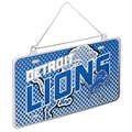 Detroit Lions NFL Metal License Plate Ornament *CLOSEOUT*