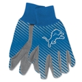 Detroit Lions NFL Full Color Sublimated Gloves *NEW*