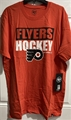 Philadelphia Flyers NHL Orange Blockout Super Rival Tee Men's *NEW*