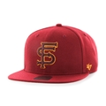 Florida State Seminoles NCAA Vintage Cardinal Sure Shot Captain Snapback Hat *NEW*
