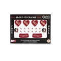 Florida State Seminoles NCAA Face and Nail Sport Stick-Ons Pack *CLOSEOUT*