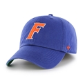 Florida Gators F Logo NCAA Royal Franchise Fitted Hat *NEW*