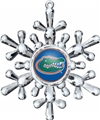 Florida Gators NCAA Traditional Snowflake Ornament 6ct Box *SALE*