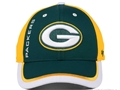 Green Bay Packers NFL Crash Line Contender Stretch Fit Hat *NEW*