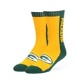 Green Bay Packers NFL Dark Green Riggins Sport Sock Size M