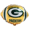 "Green Bay Packers NFL 18"" Mylar Balloon - BULK *CLOSEOUT* 173ct Lot"