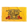 Pittsburgh Steelers Official Gold Halloween Terrible Towel *NEW*