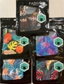 Hawaiian Tropical/Leaf Design Reusable Face Masks w/ Ear Loops - 1 Dozen