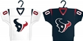Houston Texans NFL Home & Away Jersey Ornament 2 Pack Set *NEW* - 6 Count Case