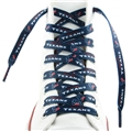 "Houston Texans NFL 54"" Blue Shoe Laces Pair *CLOSEOUT*"
