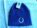 Indianapolis Colts NFL Team Apparel Blue Cuffless Knit Hat