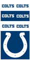 Indianapolis Colts NFL Superdana Neck Gaiter *NEW*