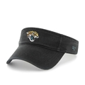 Jacksonville Jaguars NFL Black Clean Up Adjustable Visor *SALE*
