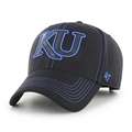Kansas Jayhawks NCAA Black Battalion MVP Adjustable Hat *NEW*