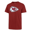 Kansas City Chiefs NFL Rescue Red Applique Knockout Fieldhouse Mens Tee Shirt *NEW*
