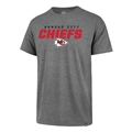 Kansas City Chiefs NFL Slate Grey Traction Super Rival Mens Tee *NEW* Size 2XL