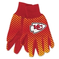 Kansas City Chiefs NFL Full Color Sublimated Gloves *NEW*