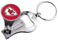 Kansas City Chiefs NFL 3 in 1 Metal Key Chain *SALE*