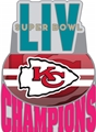 Kansas City Chiefs NFL Super Bowl LIV (54) Champions Pin *NEW*