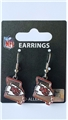 Kansas City Chiefs State Design NFL Dangle Earrings