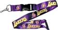 Los Angeles Lakers NBA Purple Lanyard
