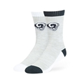 Los Angeles Rams NFL Gray Thatcher Hybrid Crew Sock Size L