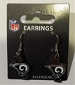 Los Angeles Rams State Design NFL Dangle Earrings