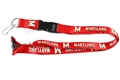 Maryland Terrapins NCAA Red Lanyard