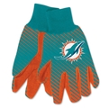 Miami Dolphins NFL Full Color Sublimated Gloves *SALE*